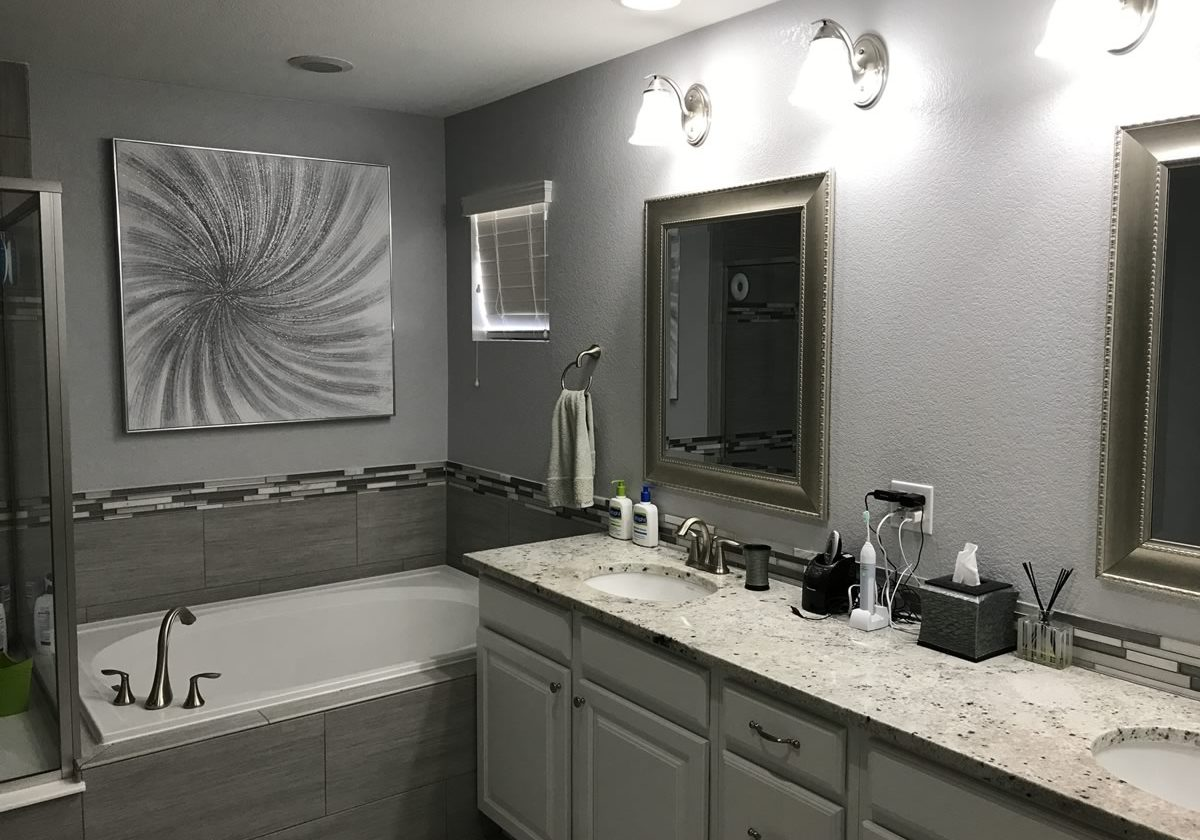 bathroom color design and painting